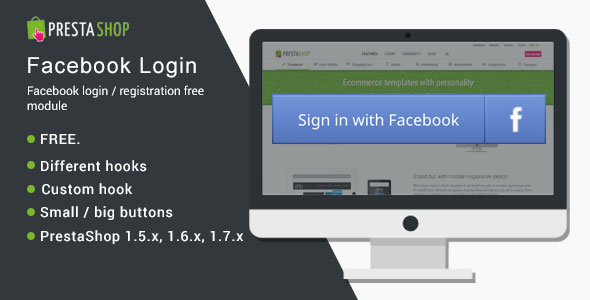 Free Module] Facebook Login / registration - Free Modules