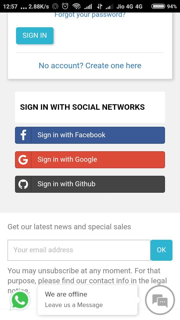PrestaShop Social Login – Sign-In using Social Networks for
