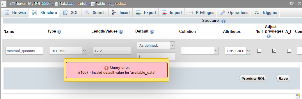 change order quantity to a decimal value - Core developers