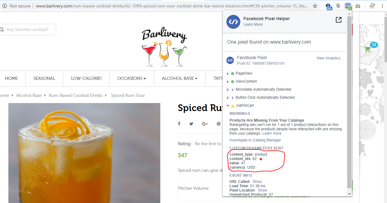 Facebook Event Tracking Issue - Bug reports - PrestaShop Forums
