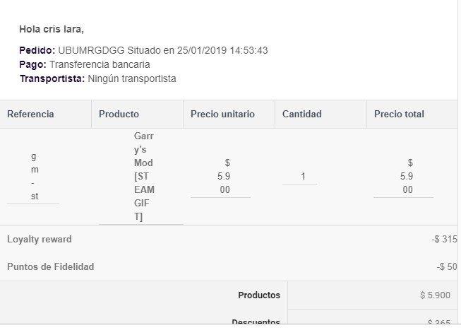 Problema Con Plantillas De Correo Compradas Prestashop Download