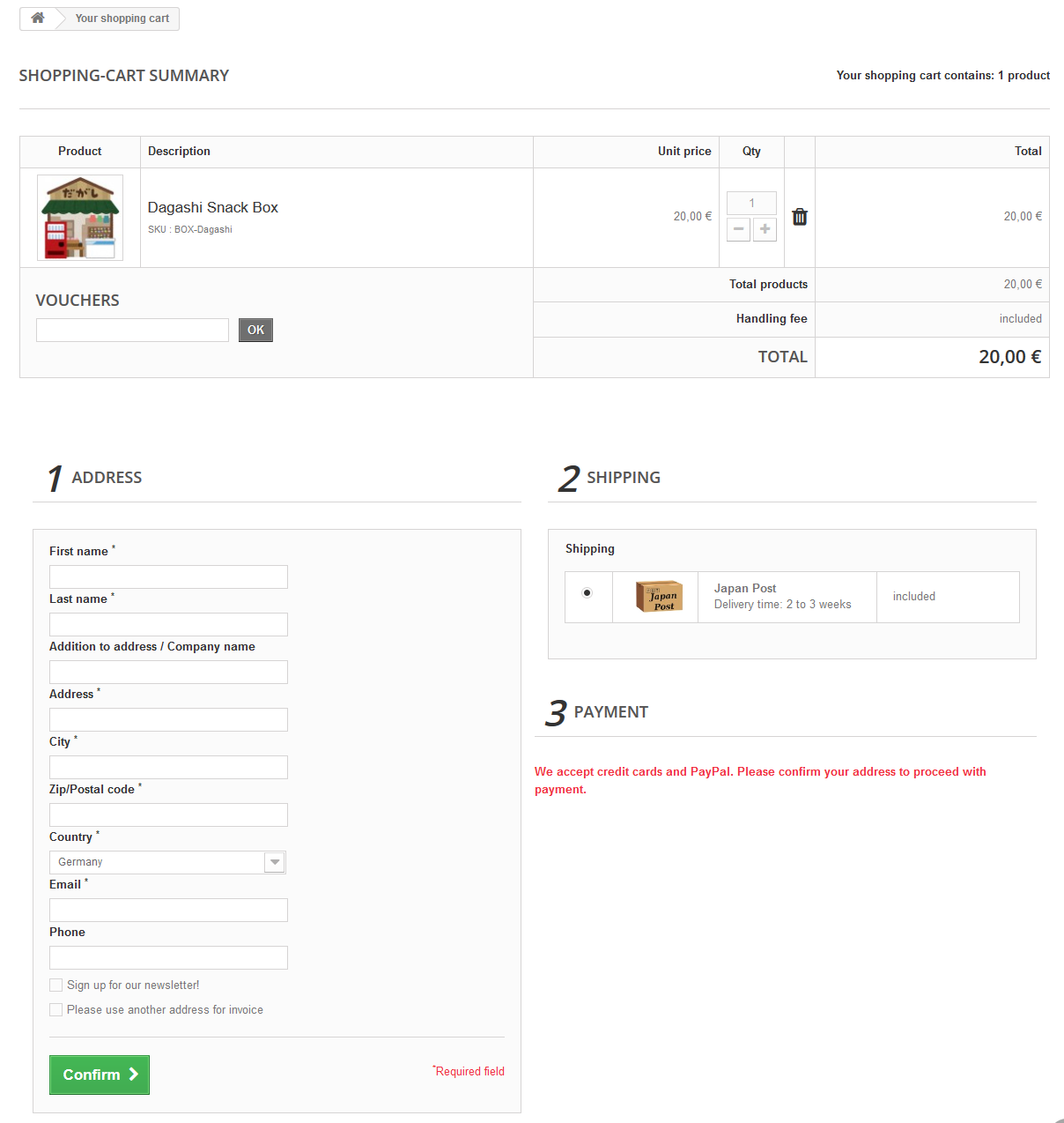 Disable user account registration - Configuring and using PrestaShop