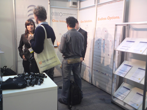 MoneyBookers at e-Commerce expo London