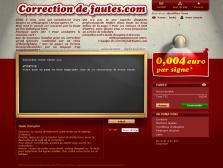 www.correction-de-fautes.com