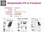 Shopializable PS on Facebook